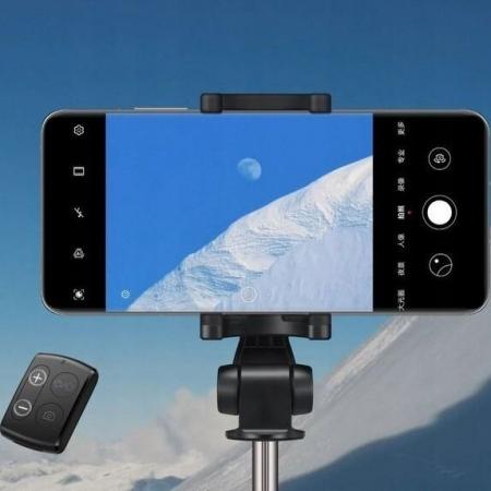 Selfie stick cu trepied Huawei CF15 Pro  wireless bluetooth, rotatie 360 grade7