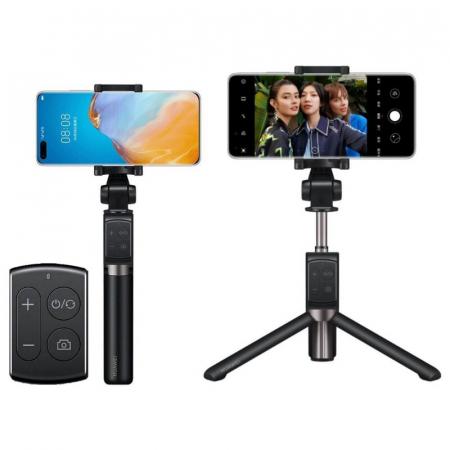 Selfie stick cu trepied Huawei CF15 Pro  wireless bluetooth, rotatie 360 grade0