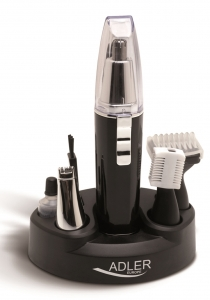 Trimmer 4 in 1 pentru tundere par nas, urechi, sprancene, barba si mustata, alimentare baterie AA7