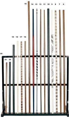 Bețe Jo, stejar alb-lemn 128 cm [0]