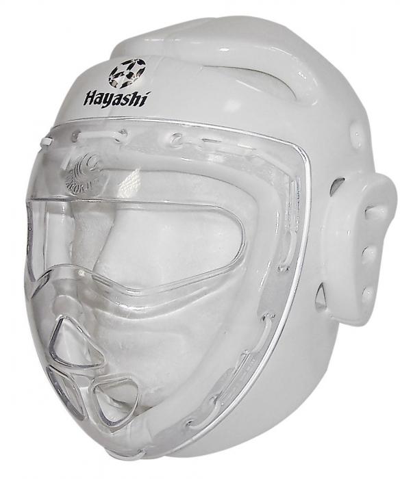 Casca/Protecția capului cu mască [0]