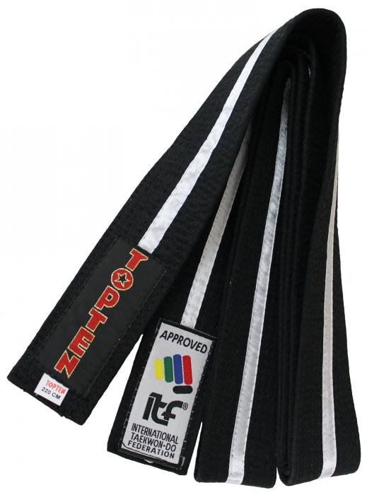 Centura neagra Taekwon-Do ITF [0]