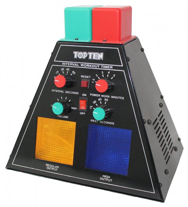 """Clock Timer MMA Timer """"Pyramid"""" [0]"""