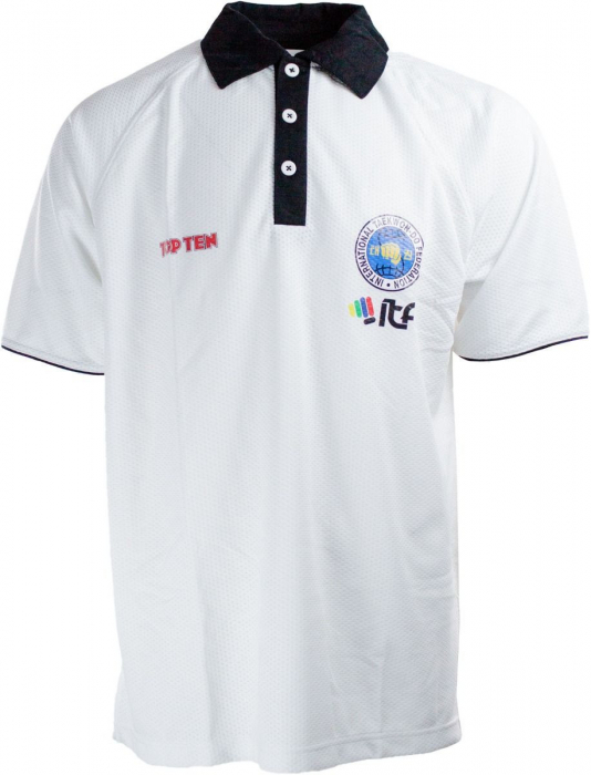 """Tricou tip polo """"ITF Dry Fit"""" [0]"""