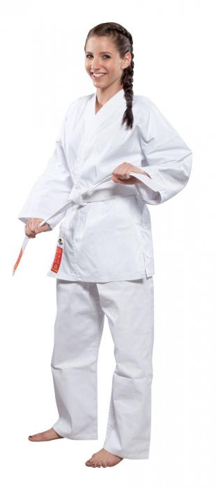 Kimono Dobok,Hayashi, HEIAN WKF pentru Karate, alb,110 cm [0]