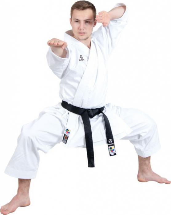 Kimono Dobok,Hayashi, TENNO PREMIUM II WKF pentru Karate, alb,155 cm [1]