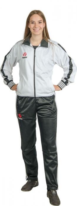 Echipament de jogging pentru copii - alb-negru [1]