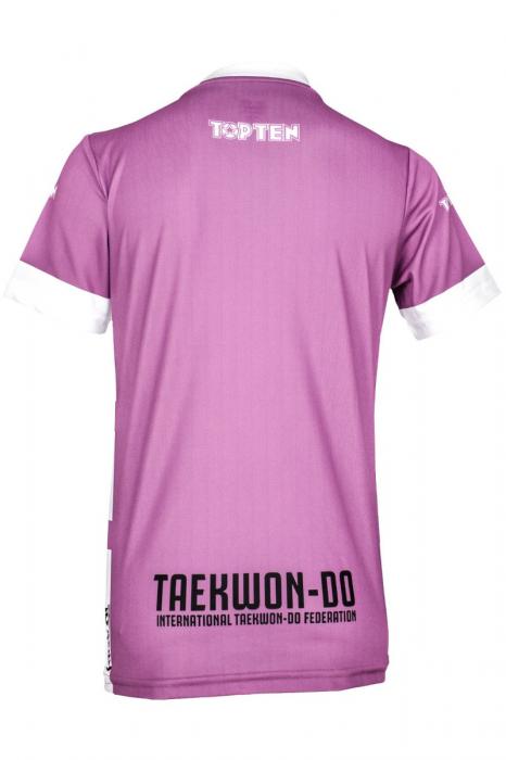 "ITF Shirt ""Star Grid"" with V-Neck [1]"