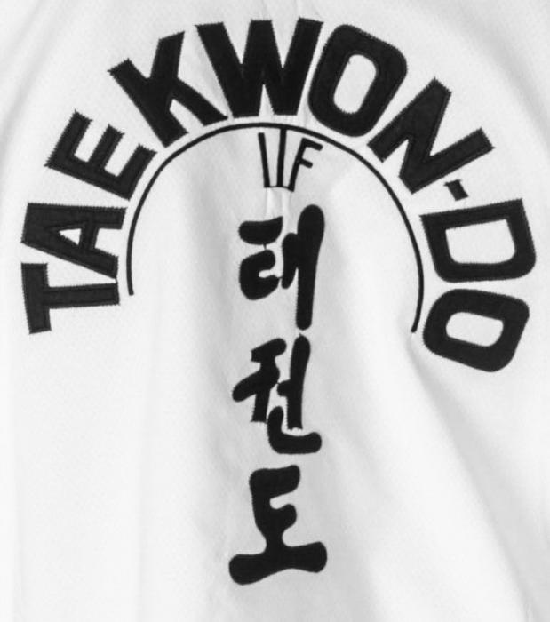 Kimono Dobok,Top Ten, Diamond ITF pentru Taekwon-do, alb,170 cm [3]