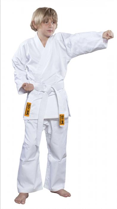 """Karate-Gi """"Gakusei"""" - alb [0]"""