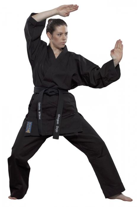 "Karate-Gi ""Kamiza"" - negru [0]"