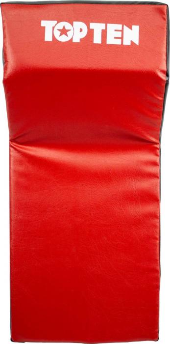 """Kicking shield """"CORNER"""" - red-black [3]"""