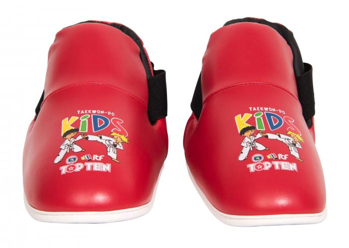 Botosei Taekwondo aprobati ITF, Top Ten, rosii pentru copii [1]