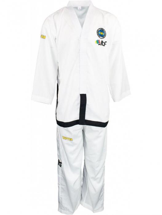 Kimono Dobok,Top Ten, Air De-Luxe ITF pentru Taekwon-do,adulti, alb,160 cm [0]