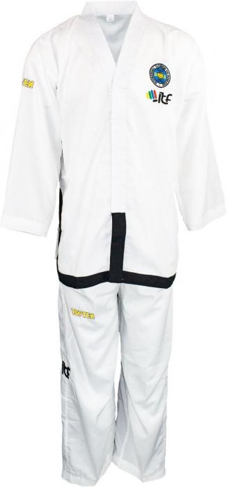 Kimono Dobok,Top Ten, Air De-Luxe ITF pentru Taekwon-do,adulti, alb,180 cm [0]