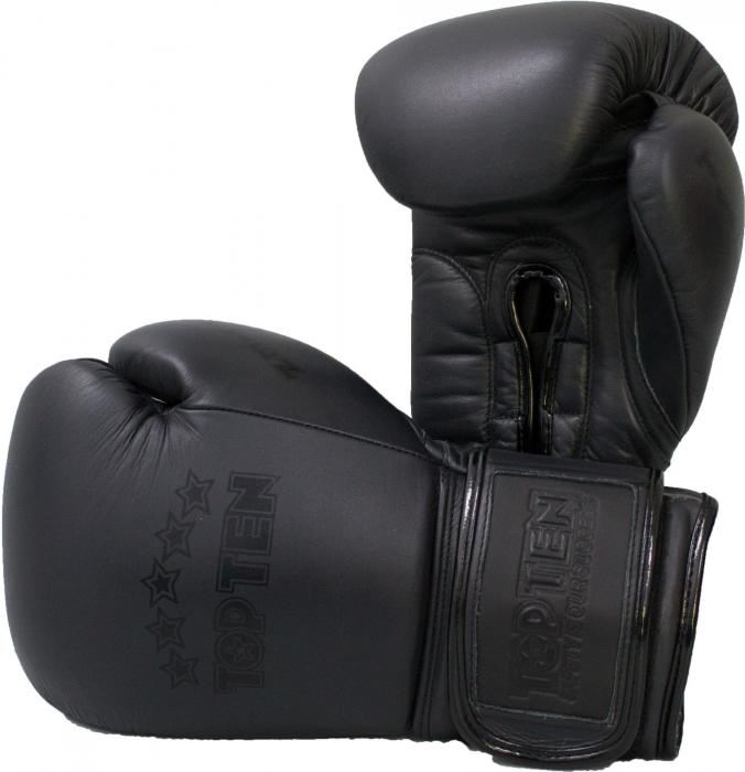 """Mănuși de box """"Black'n'Black"""" [0]"""