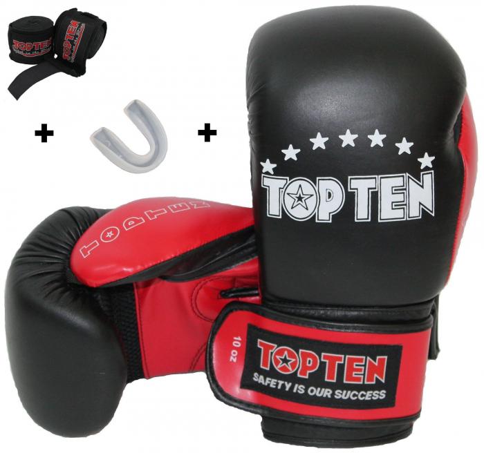 Mănuși de box Starter Kit, inclusiv gura și bandaje [0]