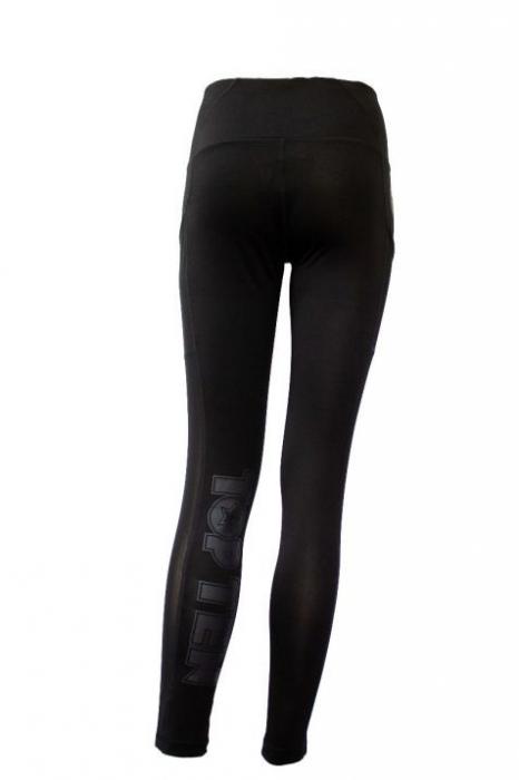 "Pantaloni cu compresie, jambiere ""Negre"" [4]"