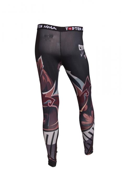 """Pantaloni cu compresie, jambiere """"Samurai"""" [1]"""