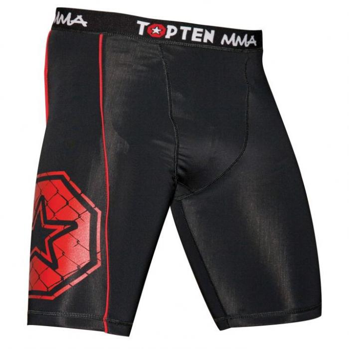 """Pantaloni scurți de compresie """"MMA"""" [0]"""