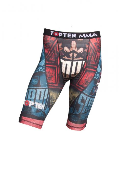 """Pantaloni scurți de compresie """"Samurai I"""" [0]"""
