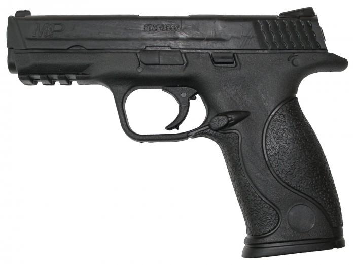 Pistol cauciuc Krav Maga [0]