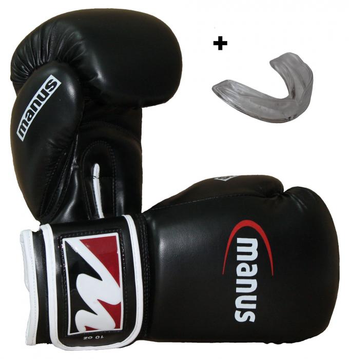 Set de start box cu mănuși de box și gura de protecție [0]