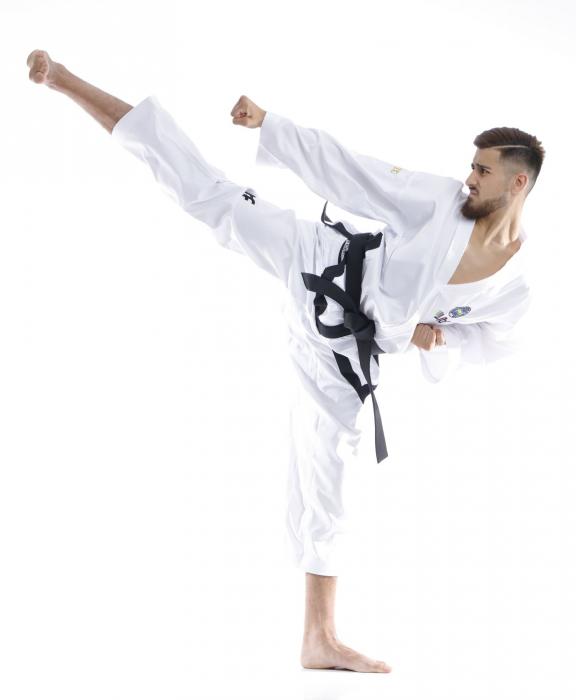 Kimono Dobok,Top Ten, Premium Gold ITF pentru Taekwon-do, alb,170 cm [0]