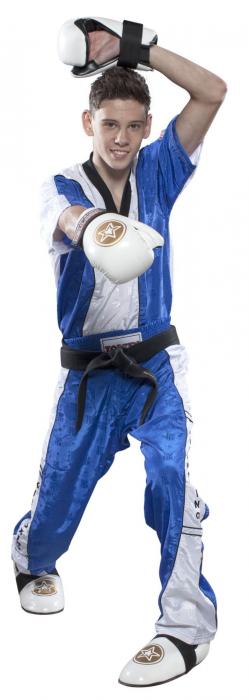 Tricou cu gât în V pentru Kickboxing [0]