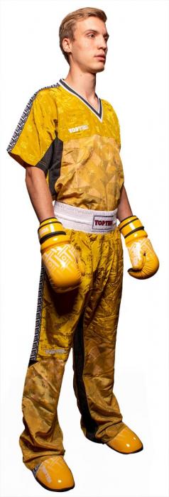 """Tricou Kickboxing guler in V """"Prism"""" [4]"""