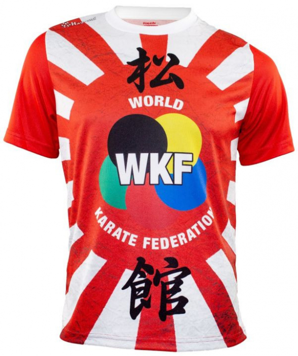 "Tricou WKF ""Hinomaru"" [1]"