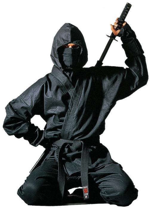"""Uniformă ninja """"Kendo"""" cu accesorii [0]"""