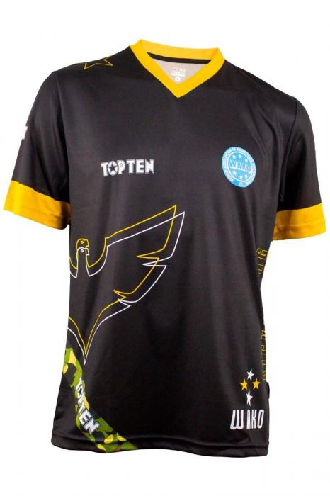 "WAKO T-shirt ""Eagle"" with V-neck [0]"