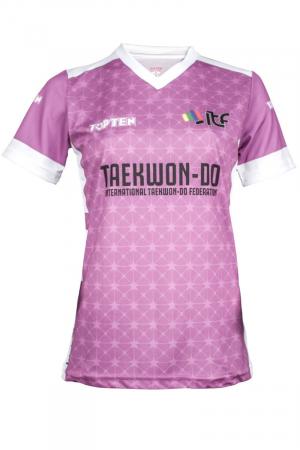 "ITF Shirt ""Star Grid"" with V-Neck [0]"
