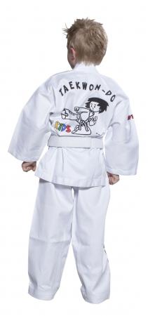 Kimono Dobok,Top Ten, ITF KIDS pentru Taekwon-do, alb,100 EU [1]