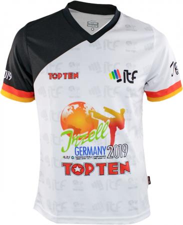 "ITF WC T-Shirt, V-Neck ""Inzell 2019"" [0]"
