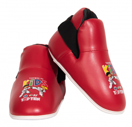 Botosei Taekwondo aprobati ITF, Top Ten, rosii pentru copii [0]