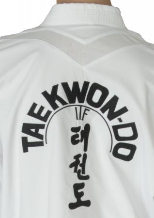 Kimono Dobok,Top Ten, Premium Gold ITF pentru Taekwon-do, alb,170 cm [5]