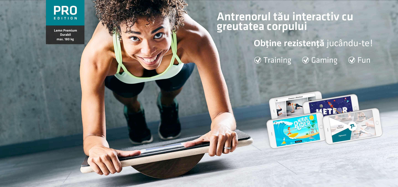 Plankpad - Interactive Bodyweight Trainer