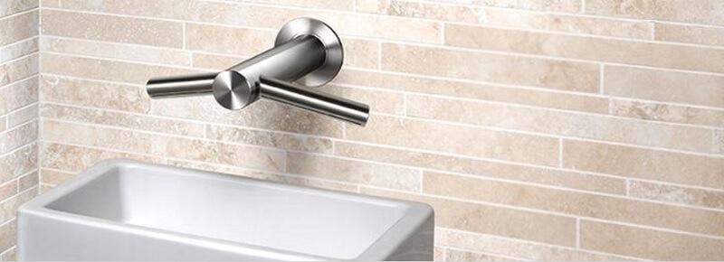 Prezentare uscator de maini cu robinet cu senzor Dyson Airblade Tap