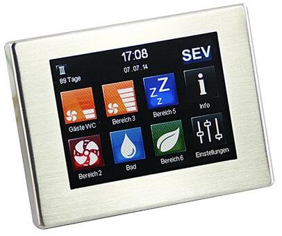 Automatizare Touchscren TFT pentru SEVentilation SEVi