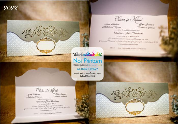 Invitatie de nunta eleganta [0]