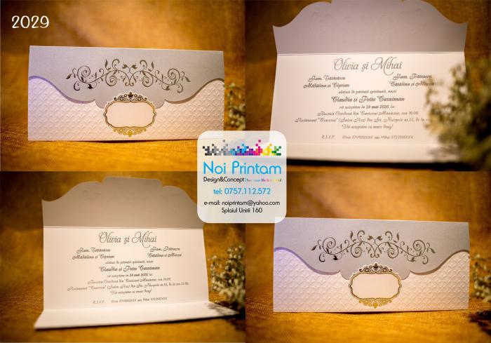 Invitatie de nunta eleganta 0