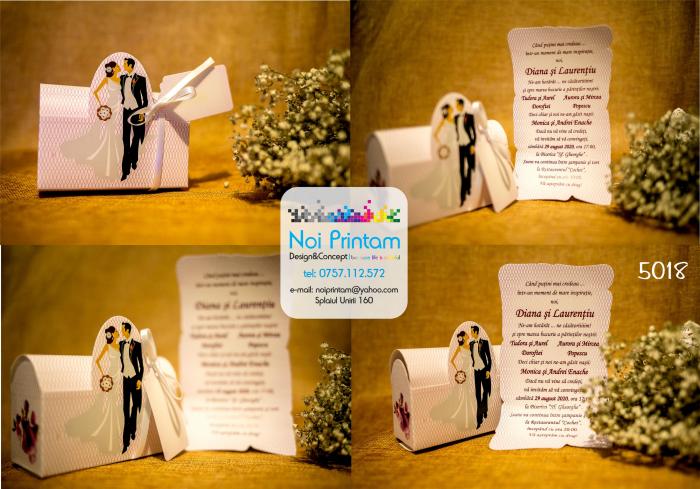 Invitatie de nunta indragostiti 0