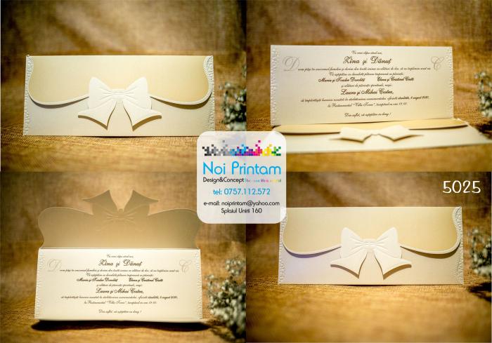 Invitatie nunta eleganta 0