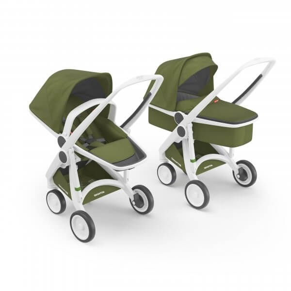 Carucior 2 in 1 Greentom 100% Ecologic 0