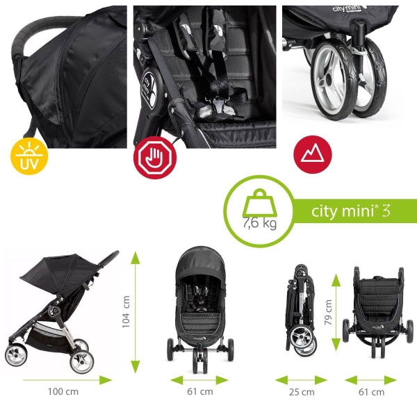 Carucior Baby Jogger City Mini 3 5