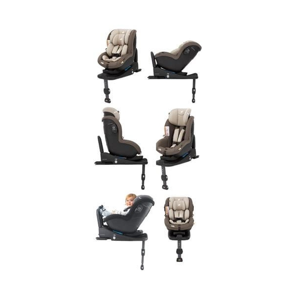 Pachet scaun auto Joie i-Anchor Advance + bază ISOfix i-size + scoica auto Joie i-Gemm 3