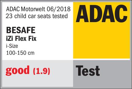 Scaun auto copii BeSafe iZi Flex Fix i-size [5]