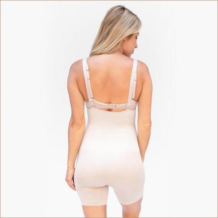 Body cu colanti scurti pentru gravide Belly Bandit Body Bump Support1